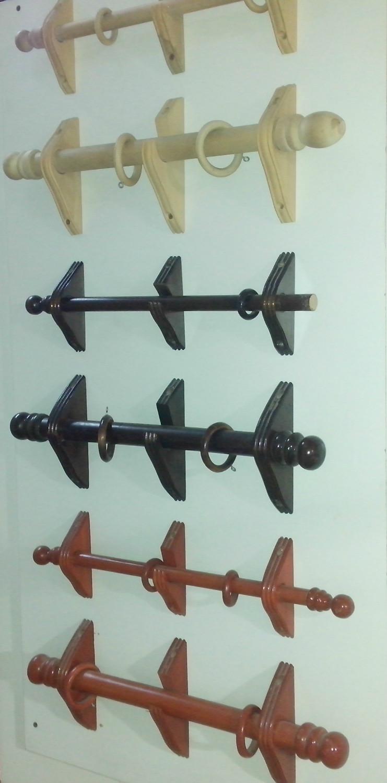 Producto barrales y accesorios corralon maderas america for Accesorios para colgar cortinas